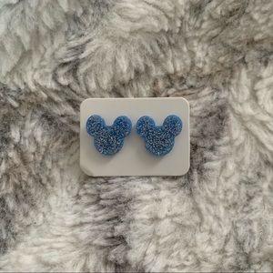 Mickey Mouse Glitter Earrings